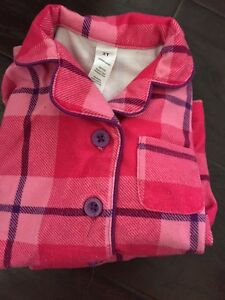2T flannel Pajamas