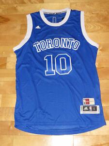 Demar DeRozan Toronto Raptors/Huskies Alternate Jersey  SZ Large