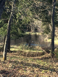 2 Acres of recreational space on 612' on the beggsboro creek