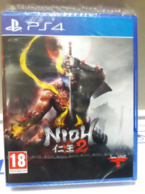 NIOH 2 BRAND NEW SEALED UNOPENED CAME WITH MY BRAND NEW PLAYSTATION
