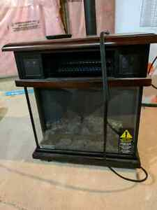 Electronic fireplace