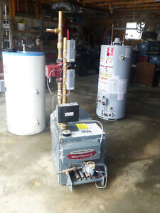 Teledyne Laars Boiler and Stainless Steel indirect Water Heater