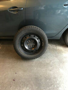Champrio Ice Pro 205 55 R16 Studdable Tires on Rims