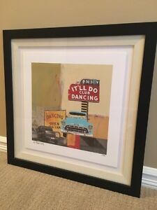 Signed print by Maureen Brouillette