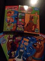 Scooby Doo book lot