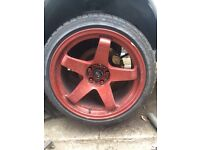 "Rota gtr 18"" wheels skyline 200sx s14 5x114"