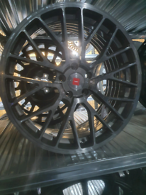 "Alloy wheel s 19"" 5x112 ispiri fits vag audi skoda mercedes"