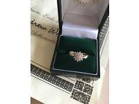 Beautiful 9 ct 29 diamond ring