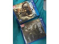 Far cry primal and fallout 4 ps4