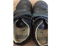 Boys Clarks school shoes 7.5 F
