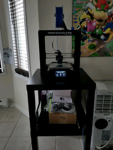 Wanhao I3 Plus 3d Printer - PLA and extra Parts+++ & Calibrated