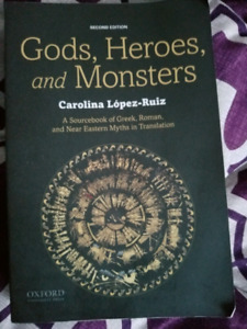 Gods, heroes and monsters book