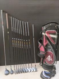 Golf clubs left hand golf set