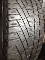 Set of 4 Continental Winter tires 205/65/15  call;(514)777-6421