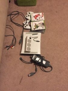 Xbox 360 20GB + Accessories, Controllers, Games