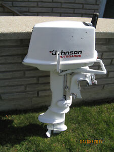 5.5 HP Johnson Outboard Motor 2 Cyl