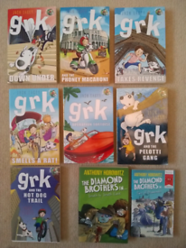 7x 'grk' books by Josh Lacey and 2x Anthony Horowitz