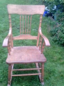 ANTIQUE  ROCKER,  $20