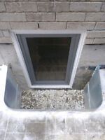 CUSTOM FIRE EMERGENCY ESCAPE BASEMENT WINDOWS INSTALLATION