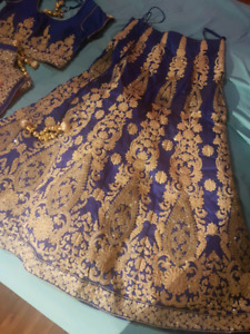Indian 3 piece lengha outfit