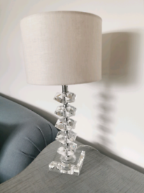 Table crystal lamp from John Lewis £25