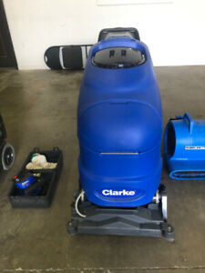 Commercial Carpet Extractor - Clarke Clean Track L24 - $2500