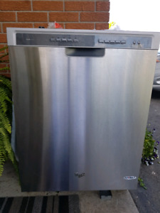 whirlpool dishwasher for parts
