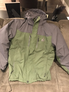 - Men's insulated GERRY Jacket - Size Small