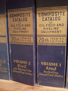 Collection-composite catalog of oilfield and pipeline equipment Edmonton Edmonton Area image 4