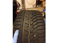 Michelin Pilot Alpin winter tyres x4 (225/35 R19)