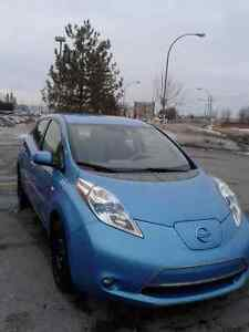 2012 Nissan Leaf SL Berline