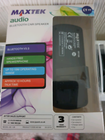 Brand new hands free car Bluetooth speaker