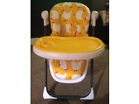 Cosatto noddle supa high chair