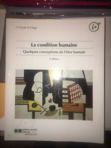La condition humaine, par J.-Claude St-Onge, philosophie