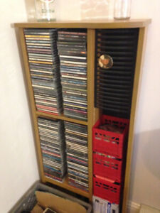 CD and Cassette collection