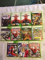 Xbox 360 video games $25 each