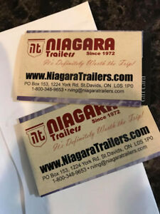 $50 in Gift Cards to Niagara Trailers