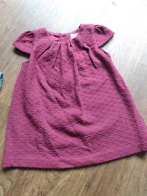 Plum dress 3-6 months