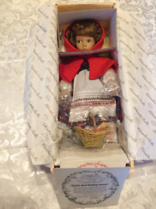 Knowles Porcelain Doll Little Red Riding Hood