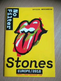 The Rolling Stones No Filter Tour Book