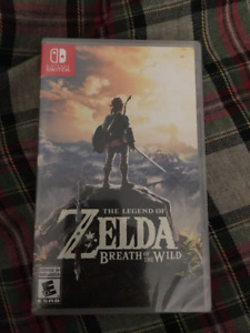 Zelda BotW - Switch - BNIB (Sealed)