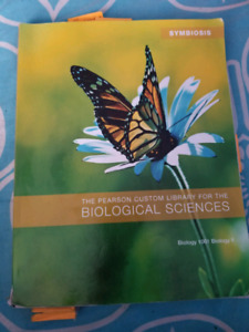 The Pearson Custom Library for the Biological Sciences