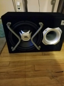 JBL powered subwoofer