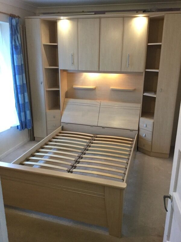 Ikea Over Bed Storage End Cupboards With Double Bed