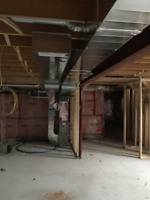 Furnace and duct relocation