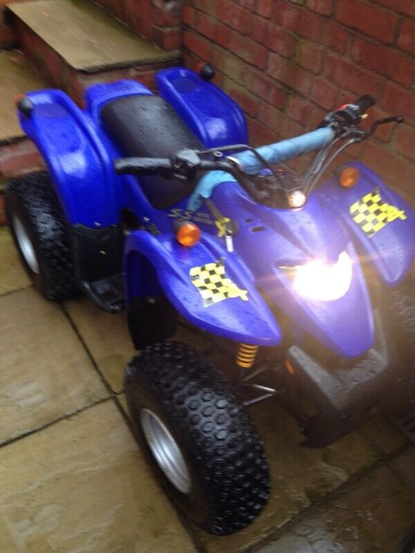 moto roma road runner 4 100cc quad bike cheap good quad in tyn y gongl isle of anglesey gumtree. Black Bedroom Furniture Sets. Home Design Ideas