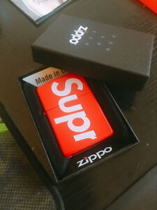 Only one Supreme Zippo lighter. At Toronto.