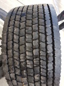 2 ONLY !! Michelin XDA-HT 445/50R22.5 Super Singles MINT!!!