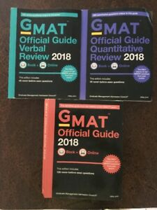 GMAT Official Guide Books - 2018