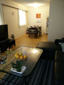Large two bedroom apartment suite on Vancouver west side